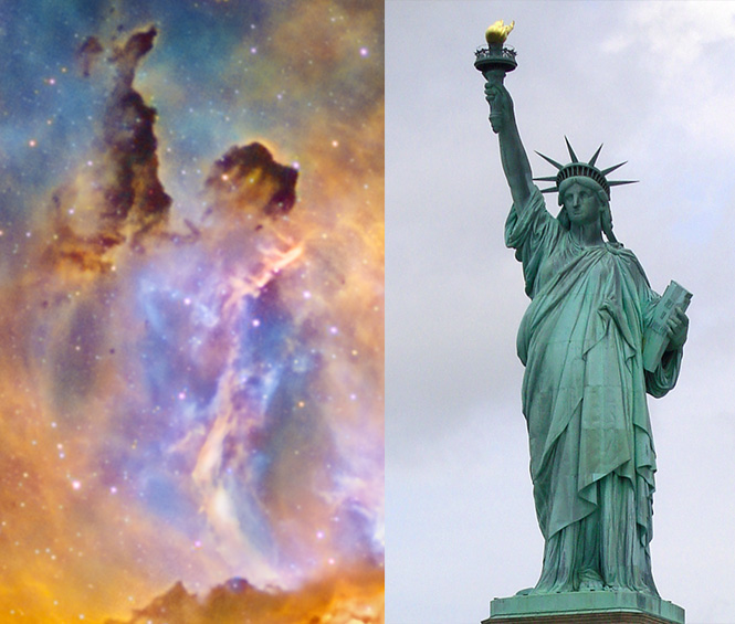 Statue of Liberty Nebula