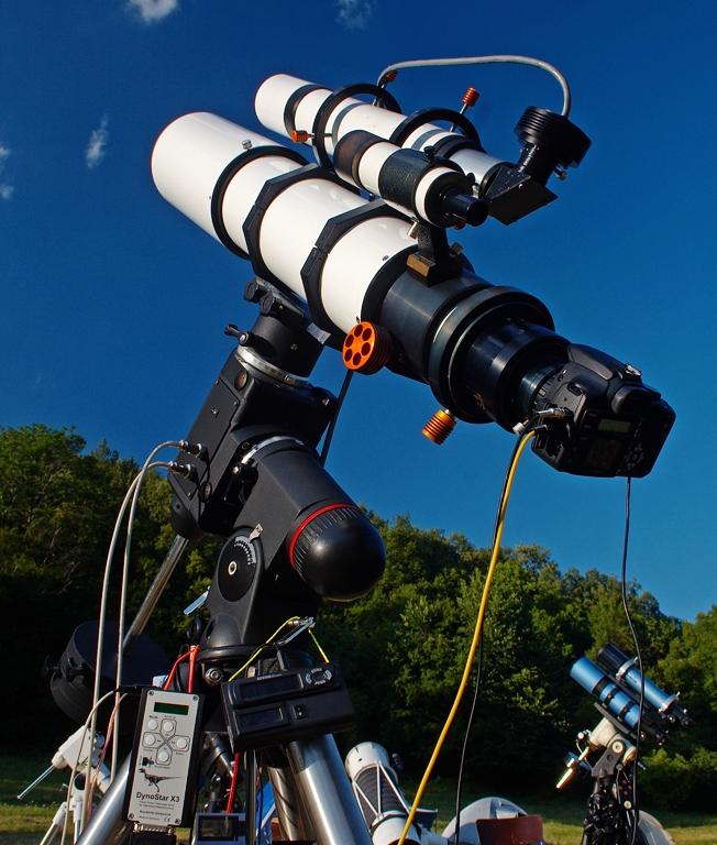TMB130 2006-2009-ben, mod. EQ6, ST-4, EOS 350D