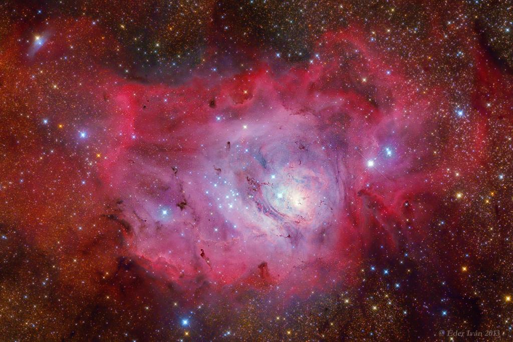 M8, Lagoon nebula