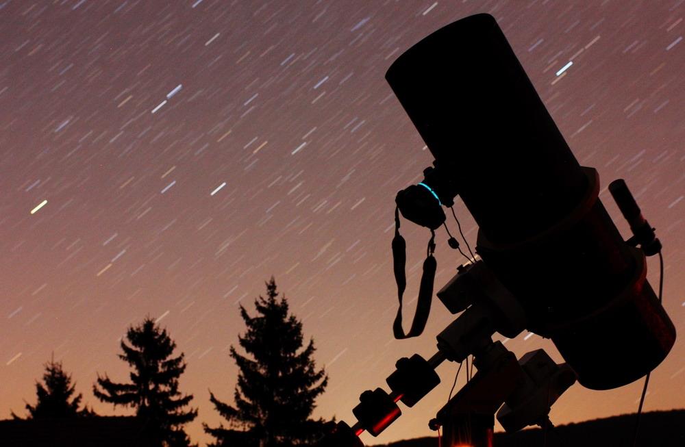 A 300-as Newton az M81-82 fotózása közben 2011 tavaszán