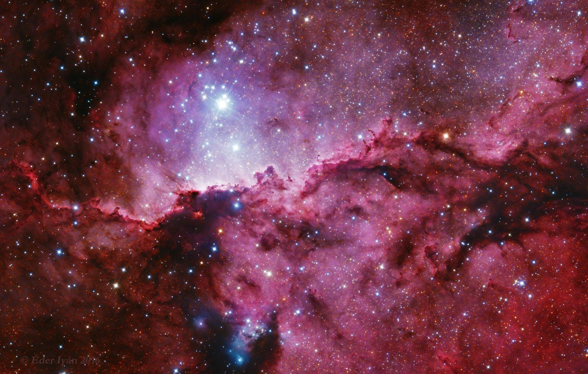 Hands Nebula (NGC 6188)