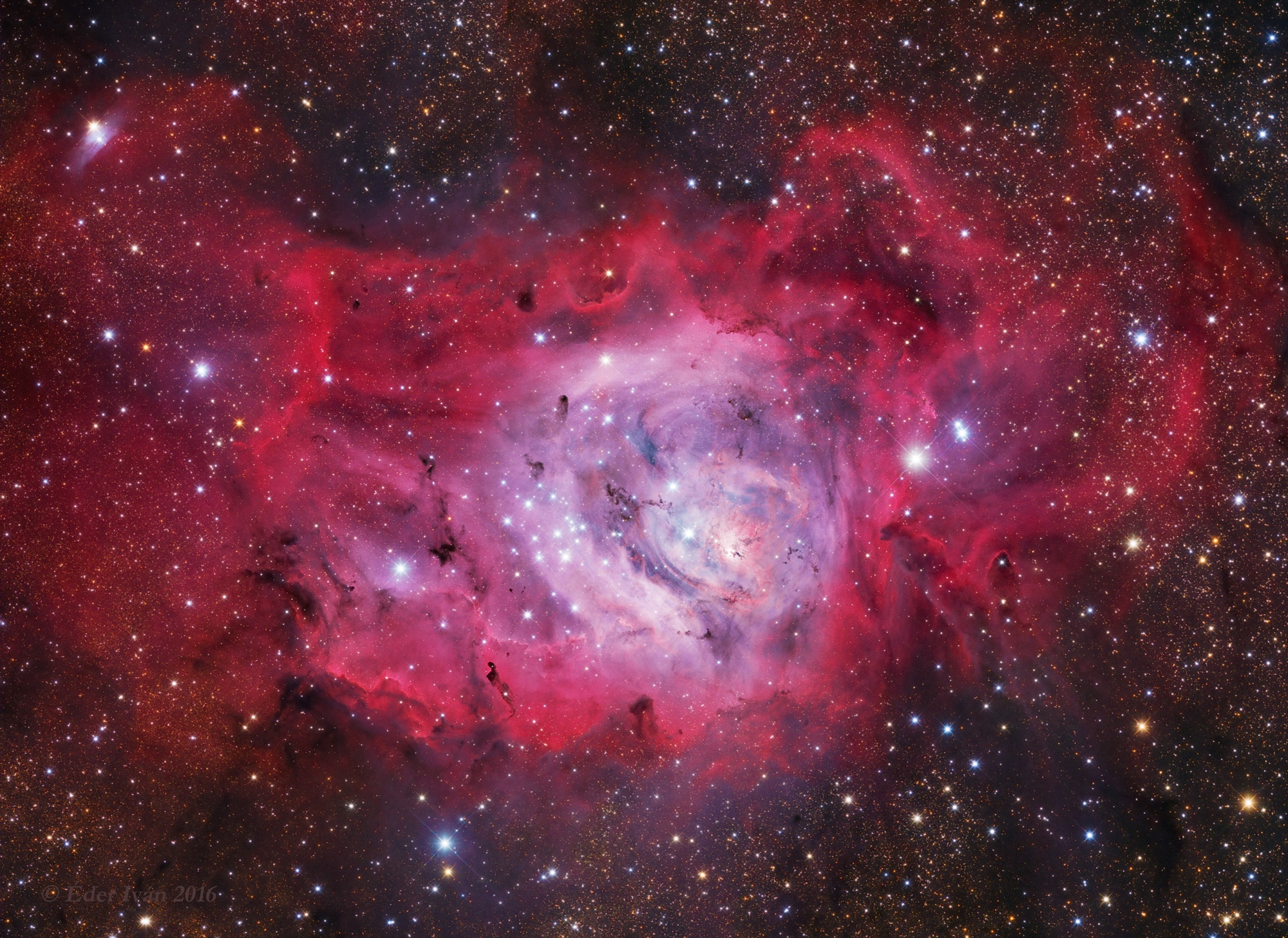 A Lagúna-köd (Messier 8)