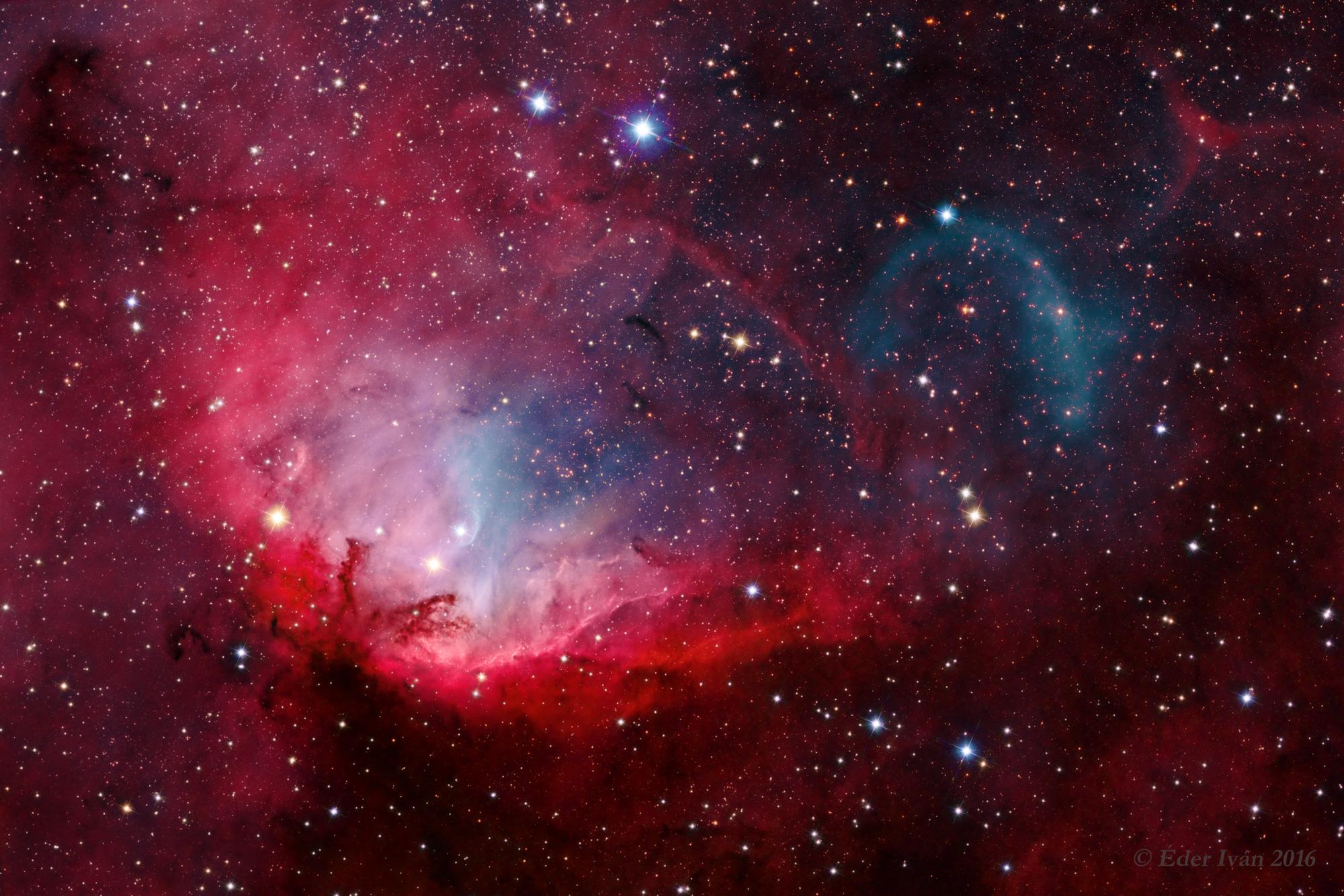 Árulkodó fekete lyuk a Tulipán-köd árnyékában