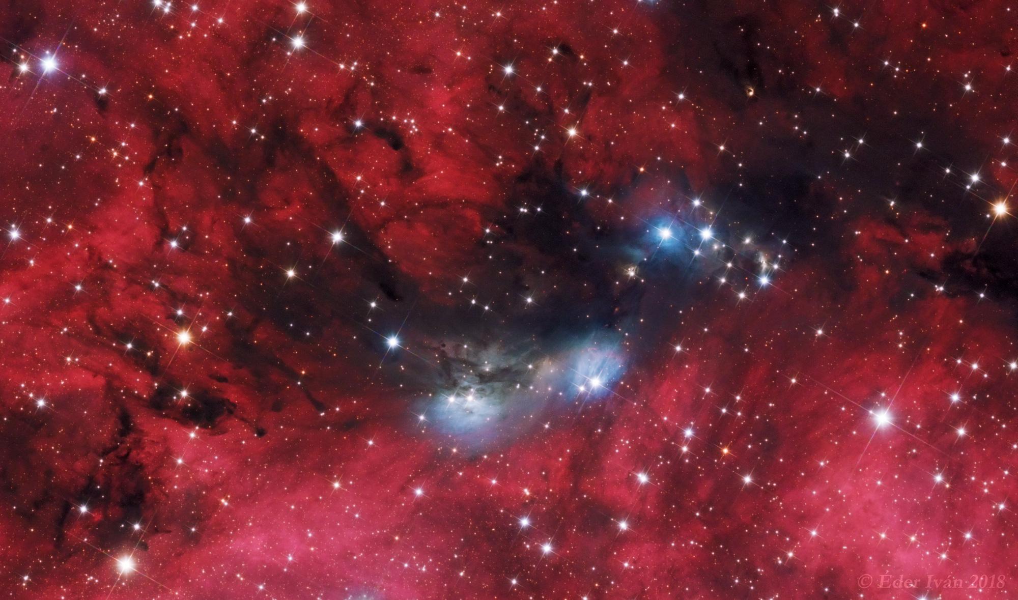 Az NGC 6914 ködkomplexum