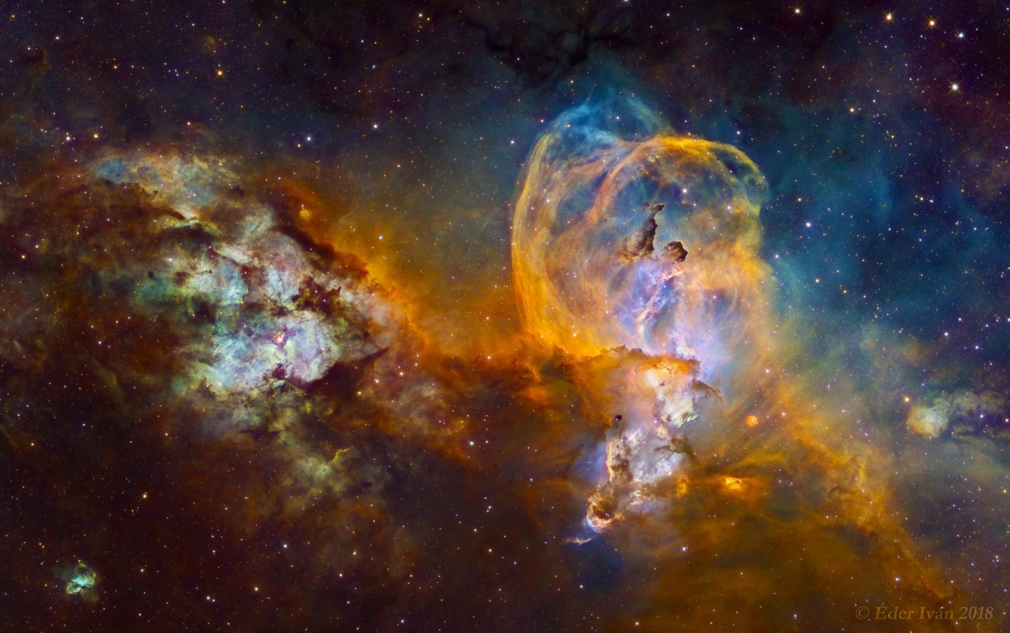 NGC 3576 - 3603