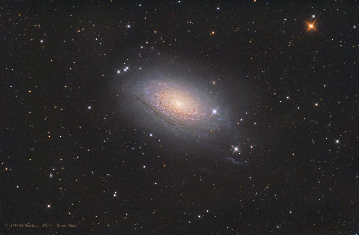 Az M63, Napraforgó-galaxis