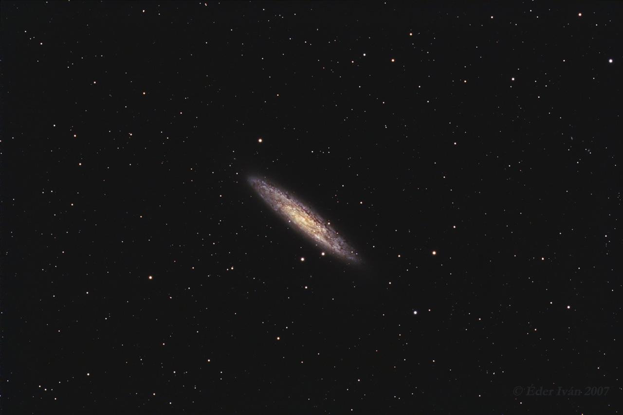 A Sculptor-Galaxis (NGC 253)
