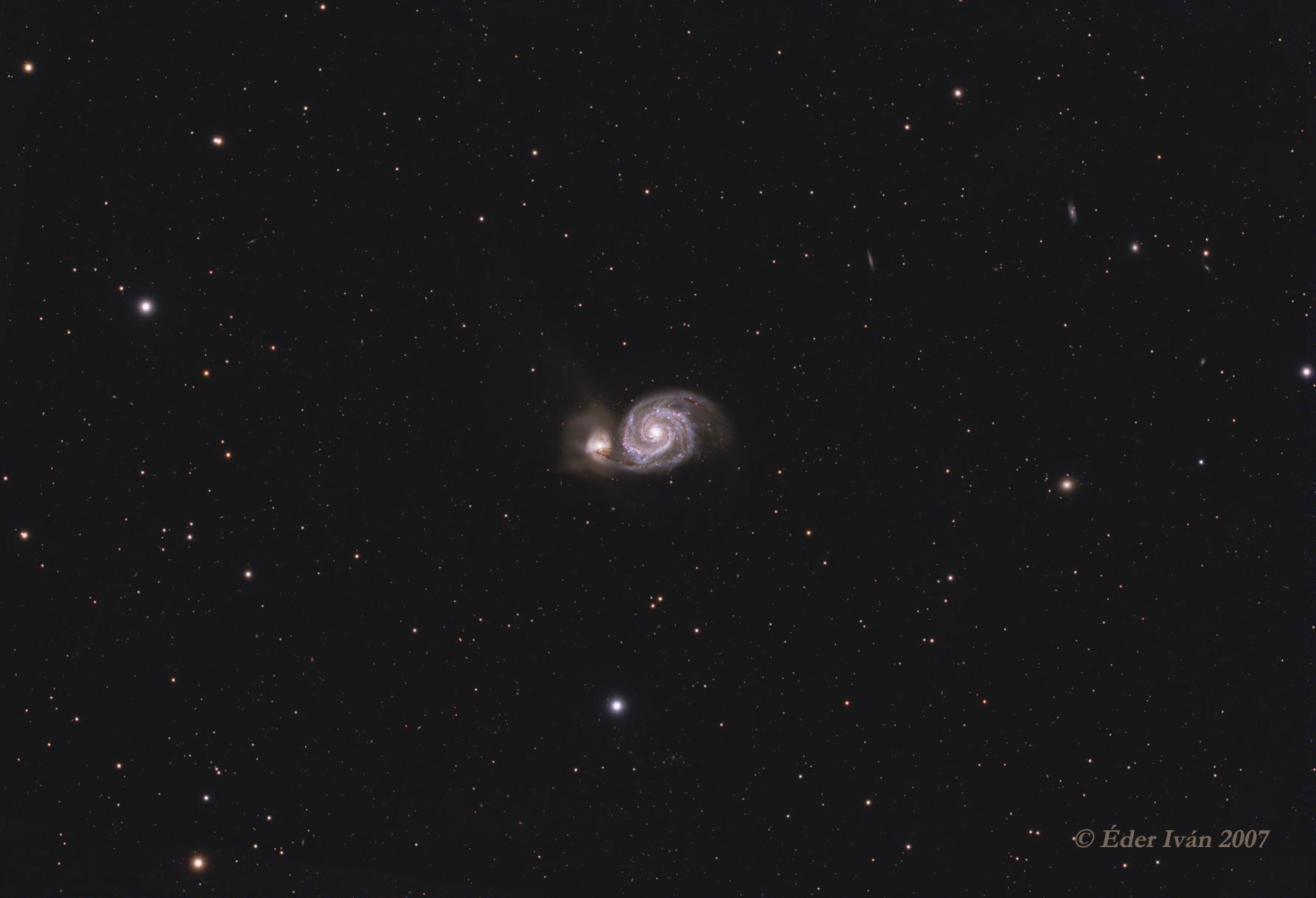 Az Örvény-köd (M51)