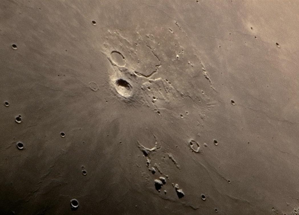 Az Aristarchus kráter vidéke