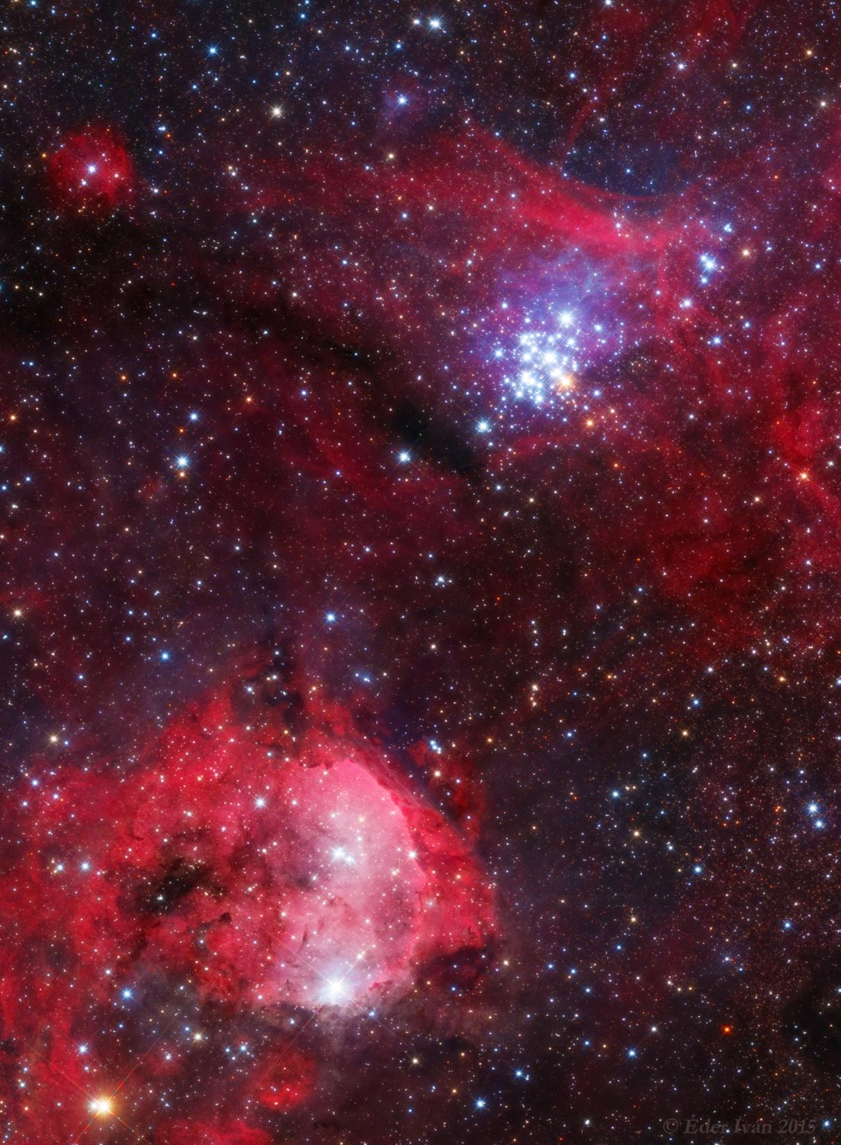 NGC 3293, NGC 3324