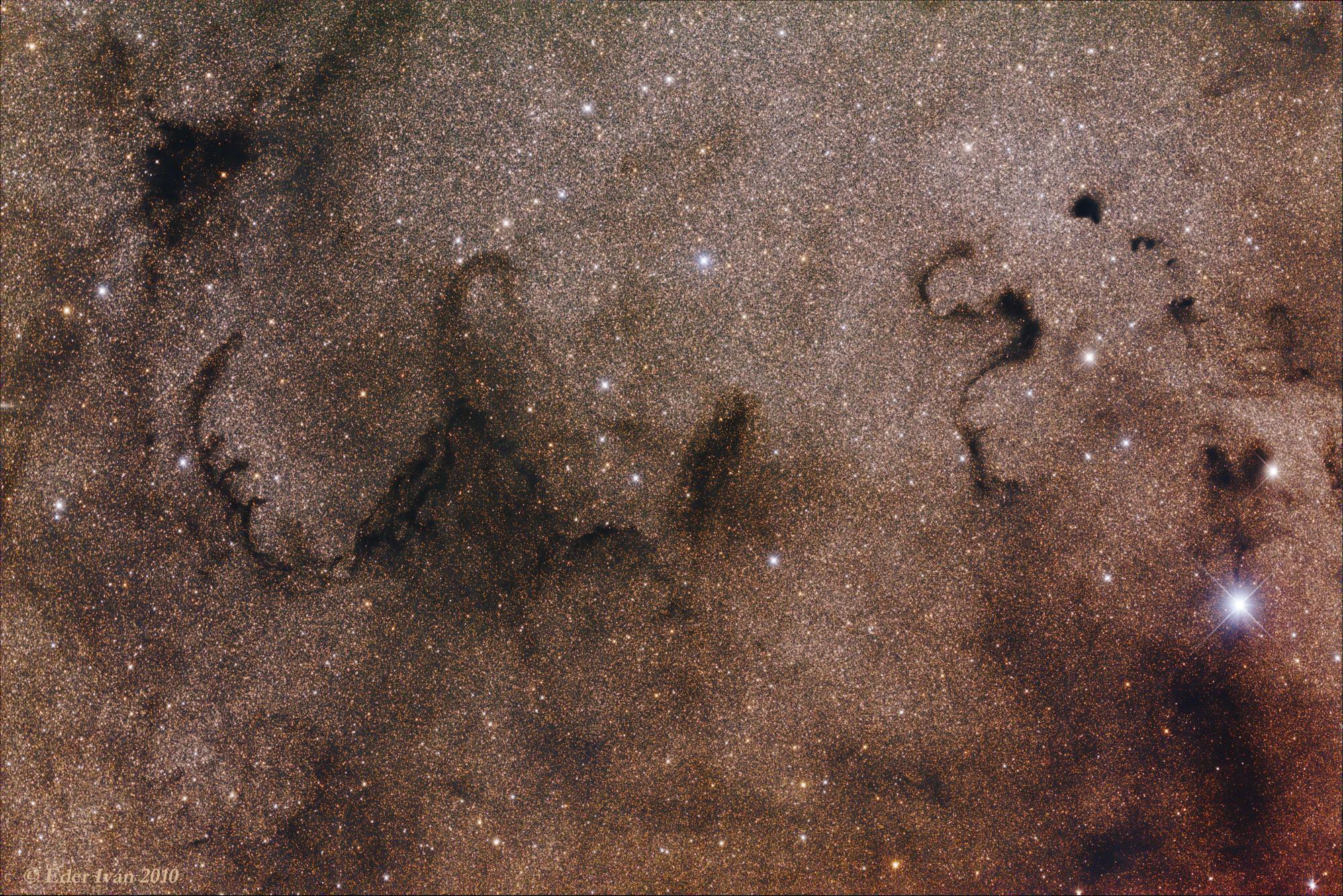 Snake Nebula region