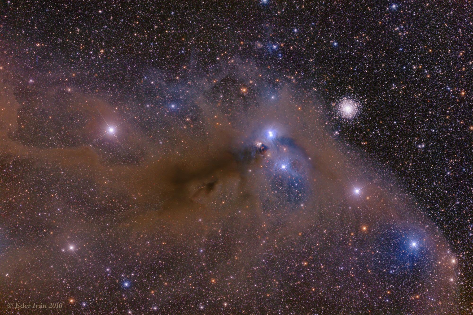 The Anteater Nebula (NGC 6726)