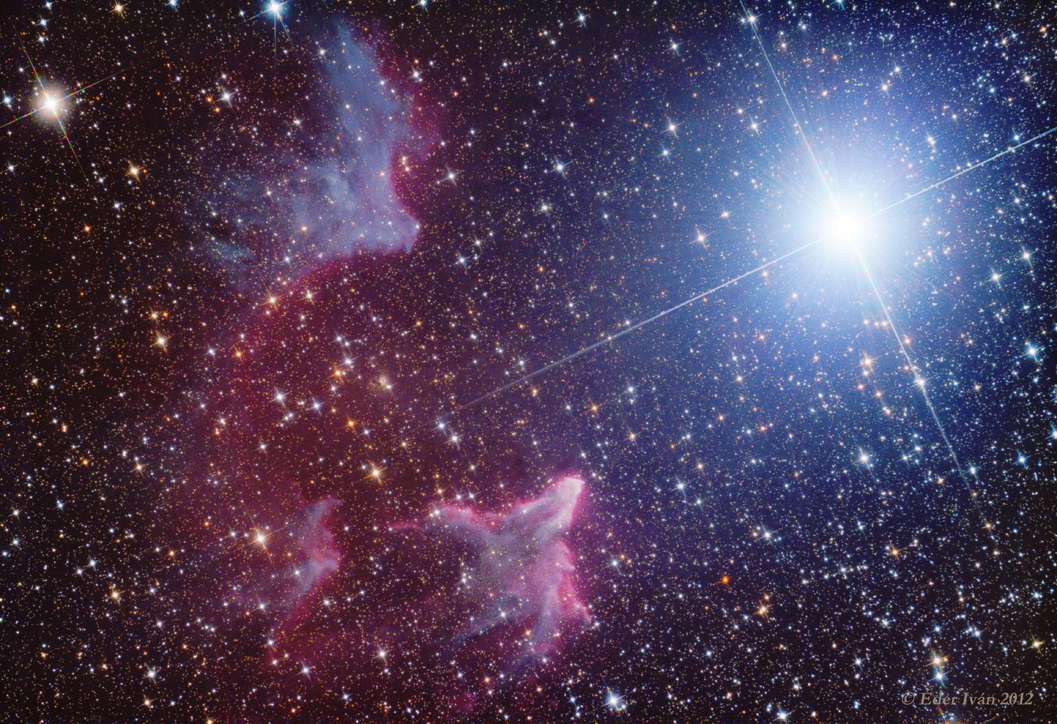 IC 59-63 Nebulas