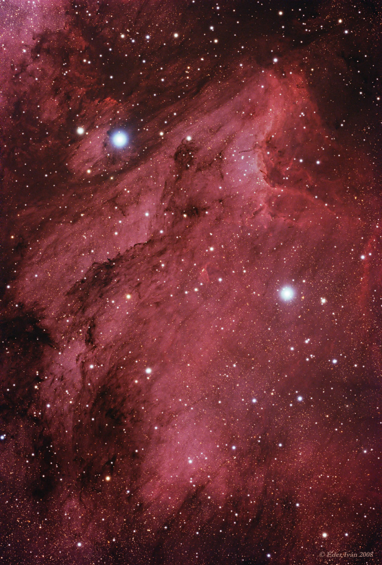 The Pelican Nebula (IC 5070)