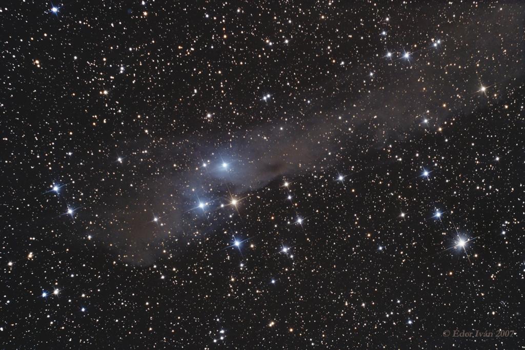 Vdb 158 nebula complex