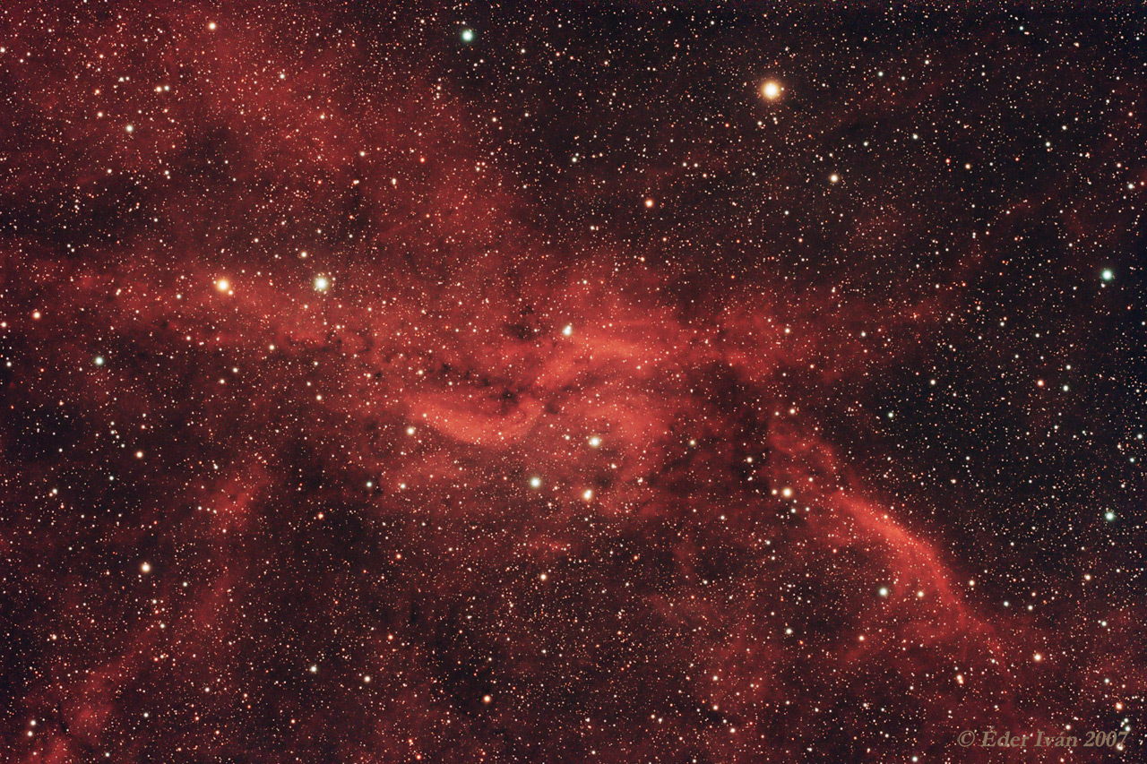 Propeller nebula (DWB 111)