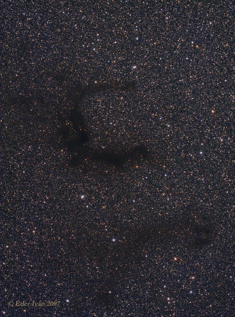 B142-143 dark nebulas
