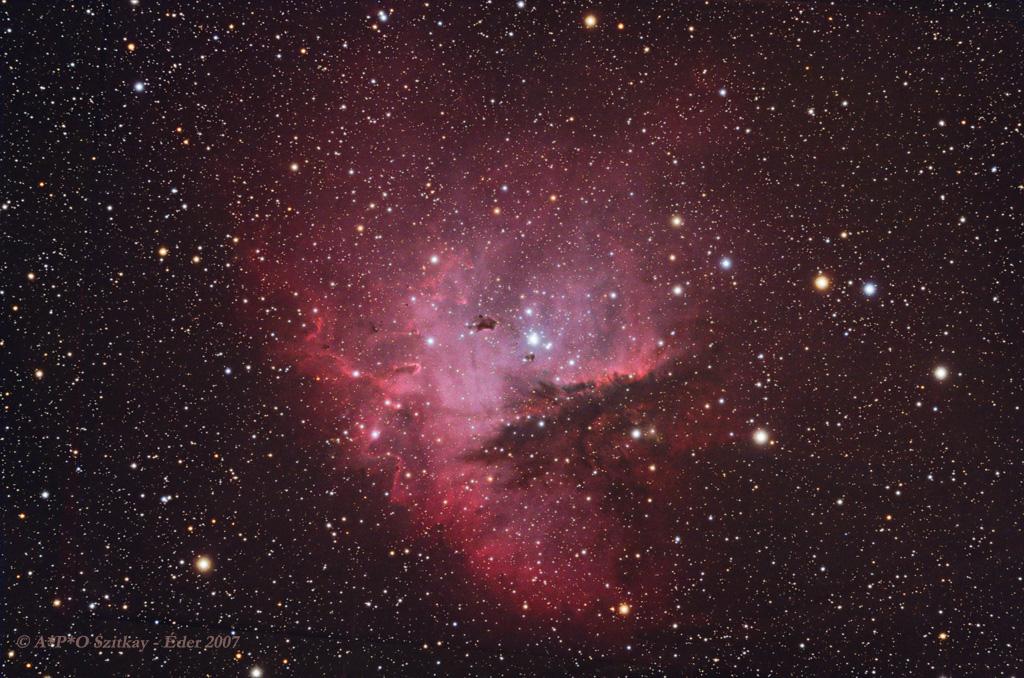 The Pacman nebula (NGC 281)