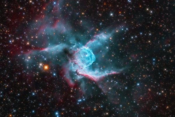 Rabbit Nebula (Thor's Helmet, NGC 2359)