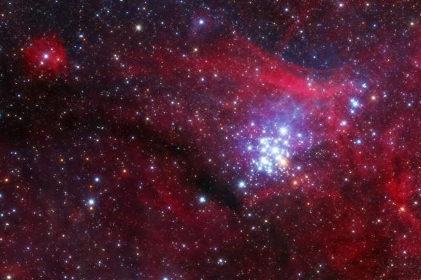Az NGC 3293 és NGC 3324 párosa