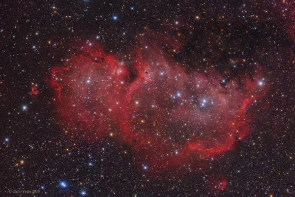 Az Embrió-köd (Sh2-199, IC 1848)
