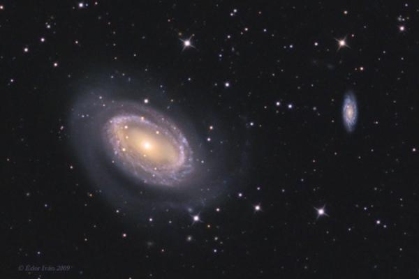 Az NGC 4725, 4747 és 4712 galaxisok