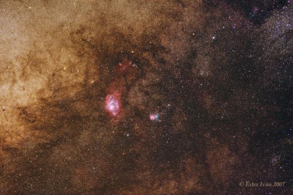 A Lagúna- és Triffid-köd