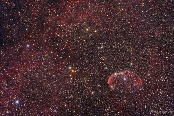 A Sarló-köd régió (NGC 6888)