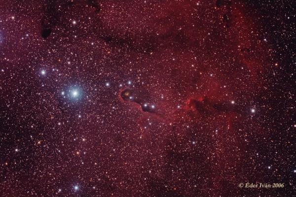 Az IC 1396A/B jelű ködök