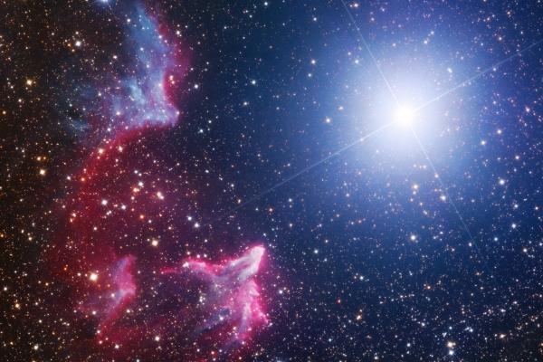 IC 59, IC 63 and Gamma Cassiopeiae