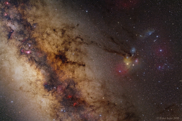 Sagittarius and Scorpius widefield