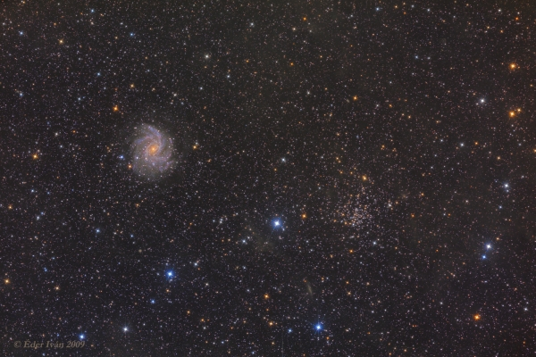 The pair of NGC 6946-6939