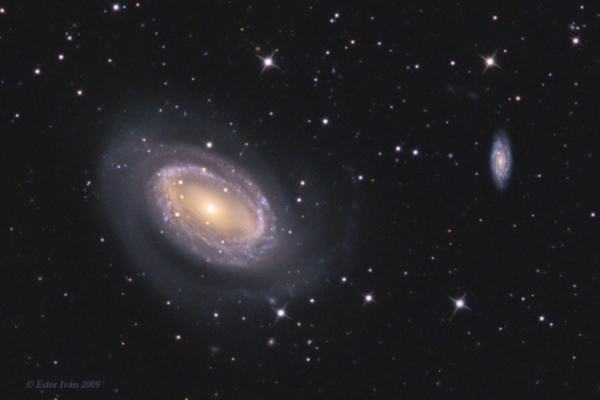 NGC 4725, 4747 and 4712 galaxies