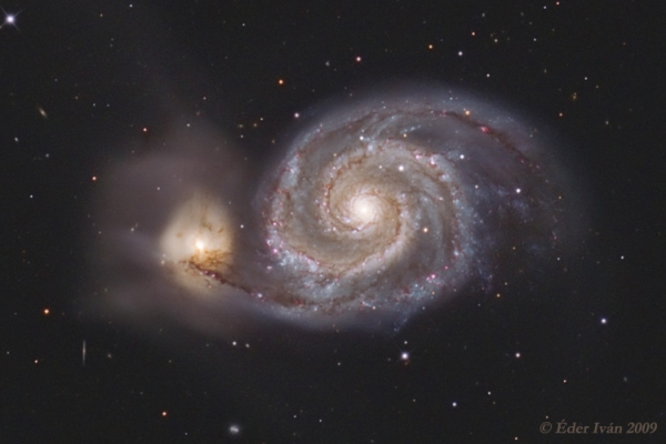 The Whirlpool-Galaxy (M51)