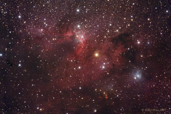 The Cave nebula region (Sh2-155)