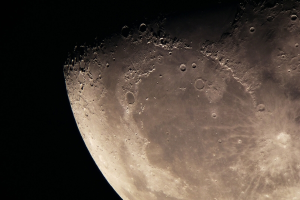 The Northern part of the Moon
