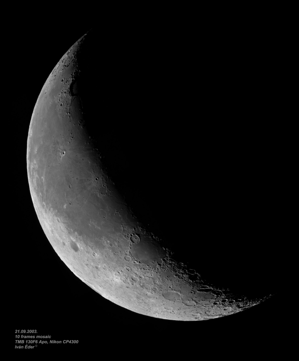 The Moon (mosaic)